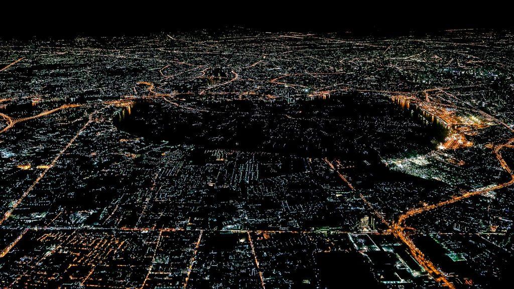 Bang Kachao, Bangkok, aerial image, Thailand