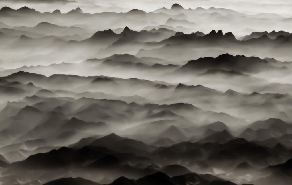 Serra de Mantequeira, Brazil, Sao Paolo, mountains, aerial image