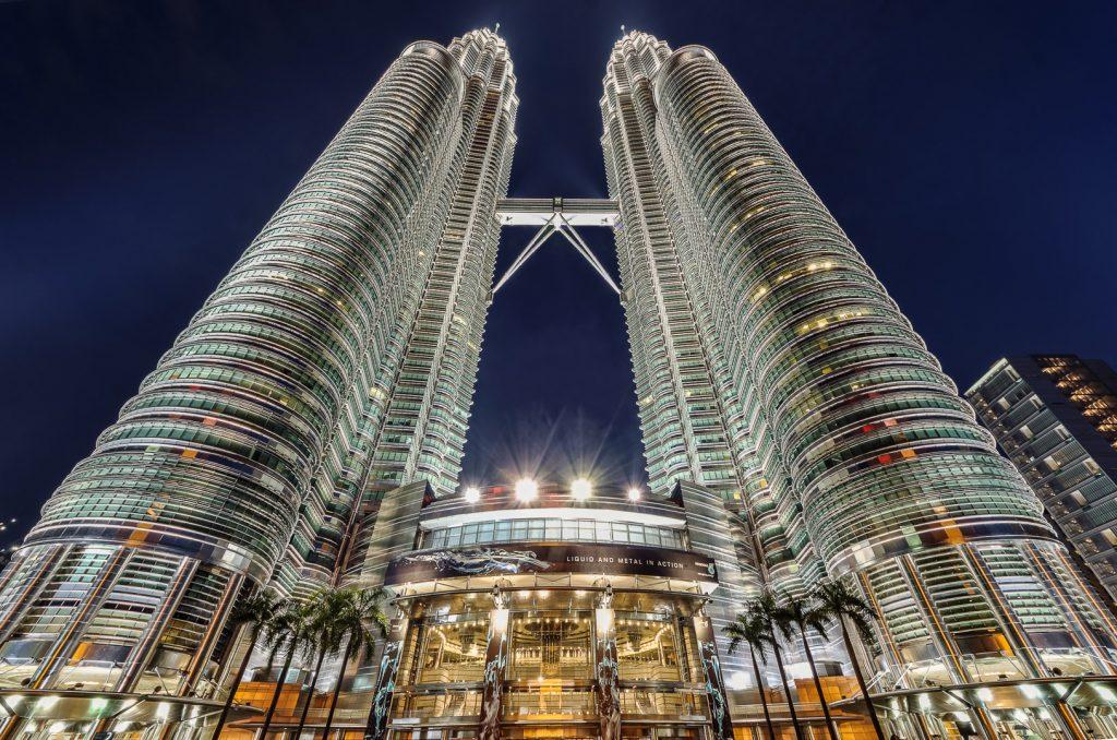 Petronas Towers, Kuala Lumpur, night