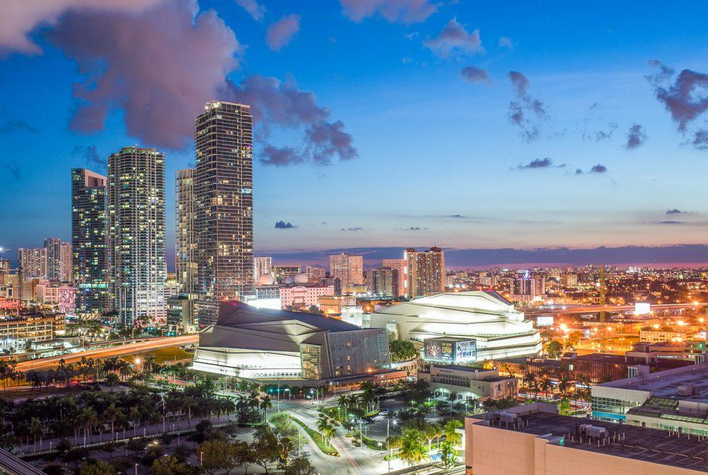 Miami, sunset